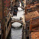 Red Roofs of Venice by Georgia Mizuleva