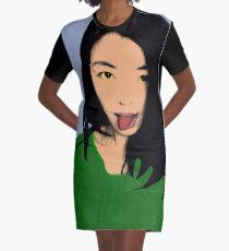 FUNNY GIRL - GREEN Graphic T-Shirt Dress