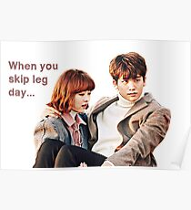 STRONG WOMAN - When You Skip Leg Day Poster