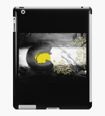 Colorado Flag - black & white iPad Case/Skin