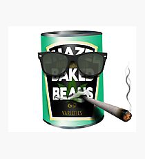 Baked Beans Photographic Print