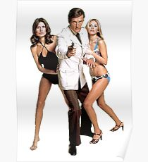 roger moore Poster