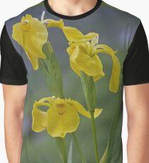 Yellow Flag Iris - Donegal Graphic T-Shirt