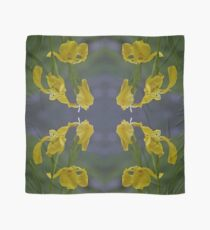 Yellow Flag Iris - Donegal Scarf