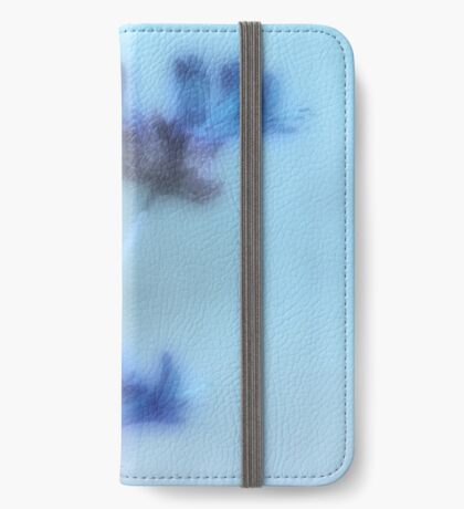 Blue iPhone Wallet