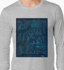 USGS TOPO Map Florida FL Holt 346671 1934 48000 Inverted Long Sleeve T-Shirt