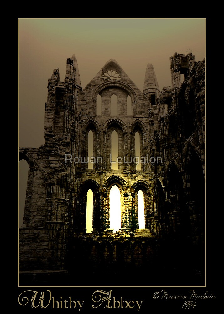 Whitby Abbey by Rowan  Lewgalon