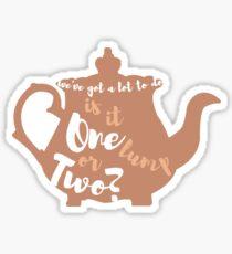 Beauty and the Beast Mrs. Potts Sticker