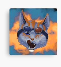 Caticulated - Design #3 Canvas Print