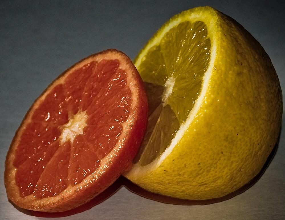 Lemon and Orange by frccle