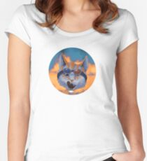 Caticulated - Design #4 Women's Fitted Scoop T-Shirt