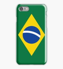 Minimalist Brazilian Flag Phone Case iPhone Case/Skin