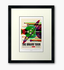 NASA Space Tourism Posters: Grand Tour Framed Print