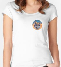 Caticulated - Design #5 Women's Fitted Scoop T-Shirt