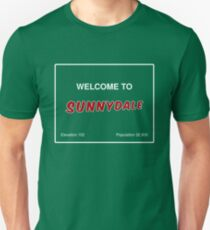Sunnydale Sign - Welcome Unisex T-Shirt