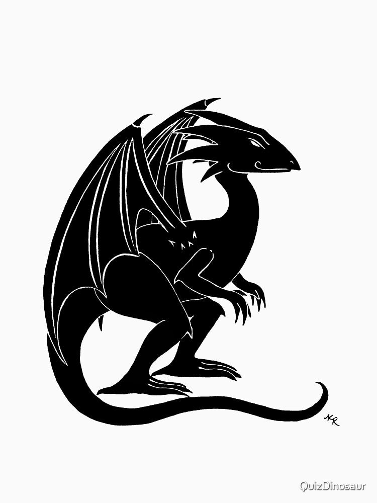The Smirking Dragon by QuizDinosaur