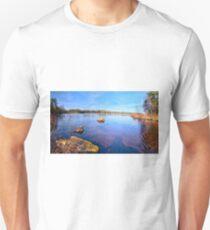 Reflections at Havsjöleden Unisex T-Shirt
