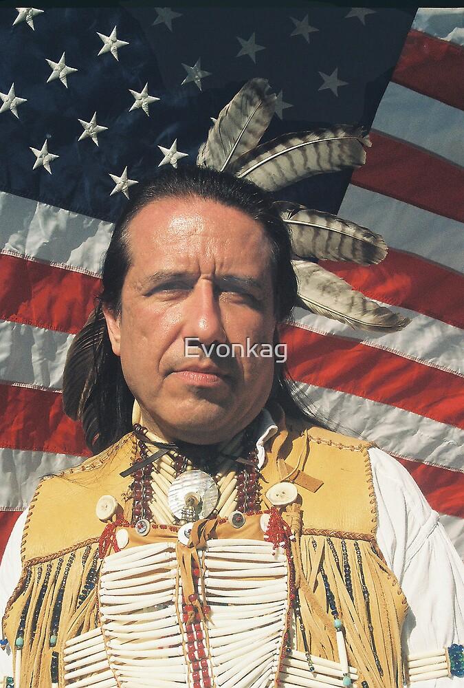 The Native American : (Mr. Steven Alverez) by Evonkag