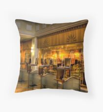 Cafe Closed Throw Pillow