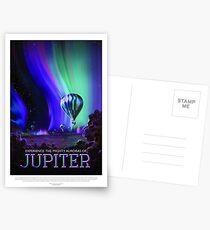 NASA Space Tourism Posters: Jupiter Postkarten
