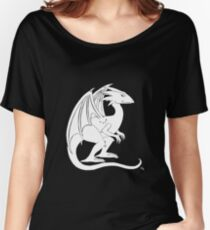 Smirking Dragon (white) Women's Relaxed Fit T-Shirt