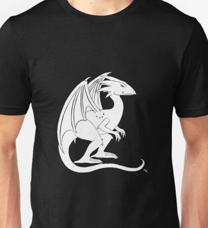 Smirking Dragon (white) T-Shirt