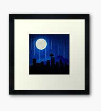 Sleepless Seattle Framed Print