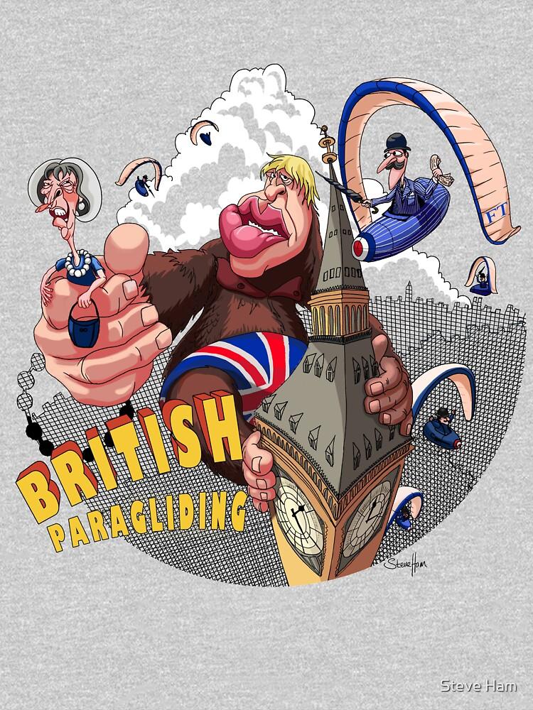 British Paragliding by steveham