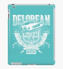 Machine Outatime iPad Case/Skin