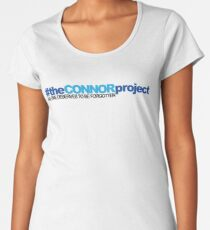 # The Connor Project Dear Evan Hansen Women's Premium T-Shirt