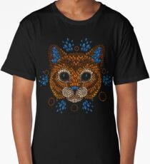 Cat Face Long T-Shirt