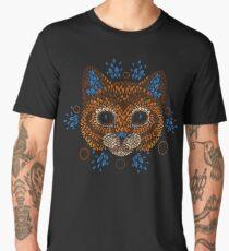 Cat Face Men's Premium T-Shirt