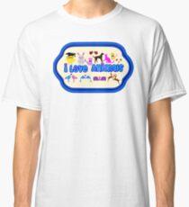 ❤↷I Love Animals-Animal Lovers↶❤ Classic T-Shirt