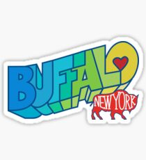 Buffalo NY Mural Sticker