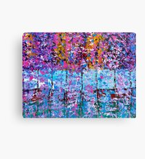 SPRING TREES IN THE WOODS Canvas Print