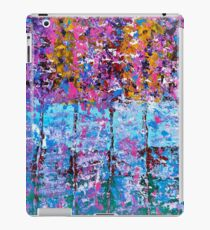 SPRING TREES IN THE WOODS iPad Case/Skin