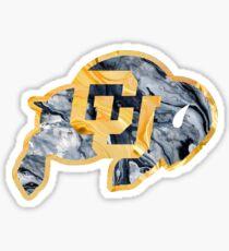 CU Boulder Marble Sticker