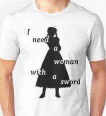 Saber shadow Unisex T-Shirt