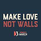 « Women's March - MAKE LOVE  » par Marie-Noëlle LANUIT