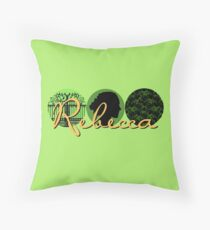 Rebecca (logo) Throw Pillow