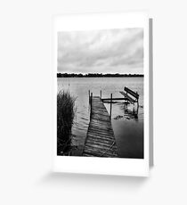 A Long Day's Journey  Greeting Card