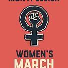 « Women's March - poing ! » par Marie-Noëlle LANUIT
