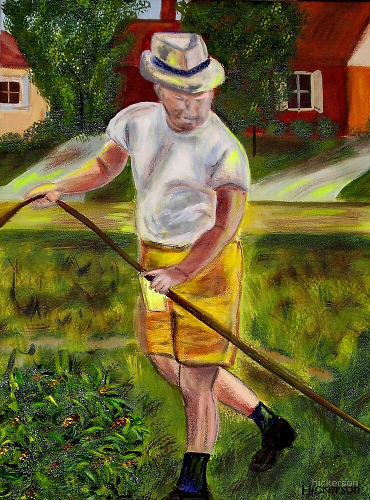 Weekend Gardener by hickerson