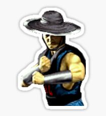 Mortal Kombat Sticker Series - Kung Lao MK2 Sticker