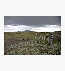 The fields of Iceland Photographic Print