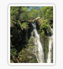 British waterfall Sticker