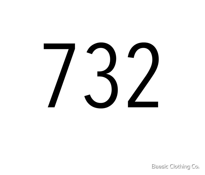 Plain Black Area Code Travel Mugs By Baesic Clothing Co - 732 area code