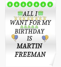 Birthday Freeman Poster
