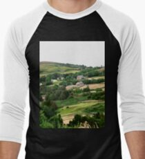 Rolling Irish Hills - Donegal, Ireland Men's Baseball ¾ T-Shirt
