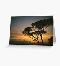 Sunset in Rome Greeting Card